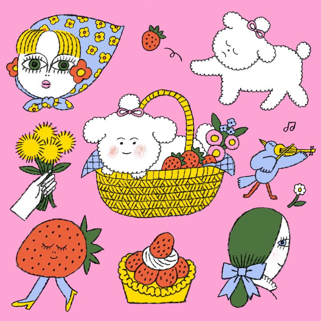 GirlsclubAsia-Artist-Min Heo-Springtime