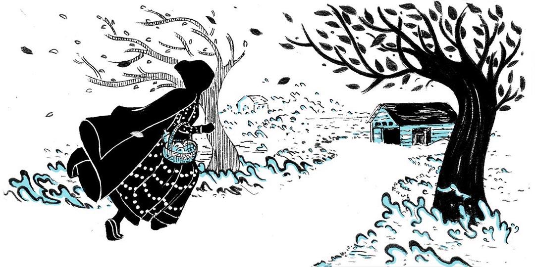 GirlsclubAsia-Illustrator-Shreya-Gupta-NewYork-India-ALCOTT_Little Women_Chapter+17+illo