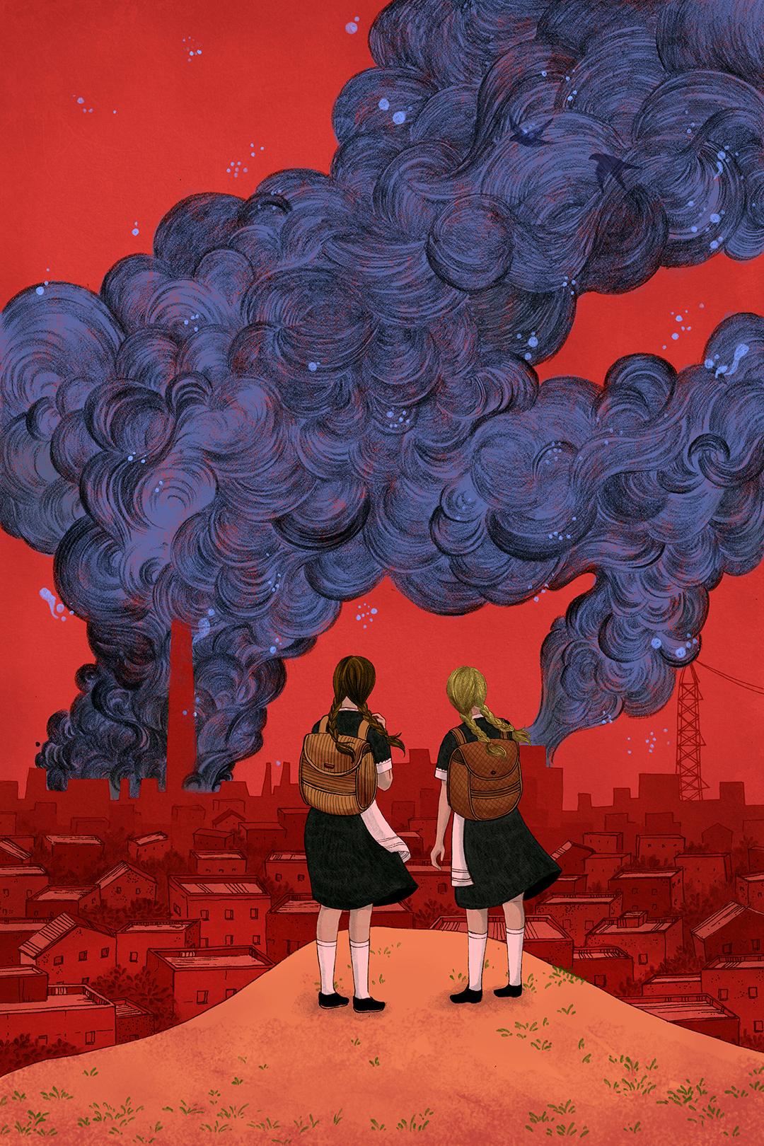 GirlsclubAsia-Illustrator-Shreya-Gupta-NewYork-India-Blackbird+Girls-+Viking+Books
