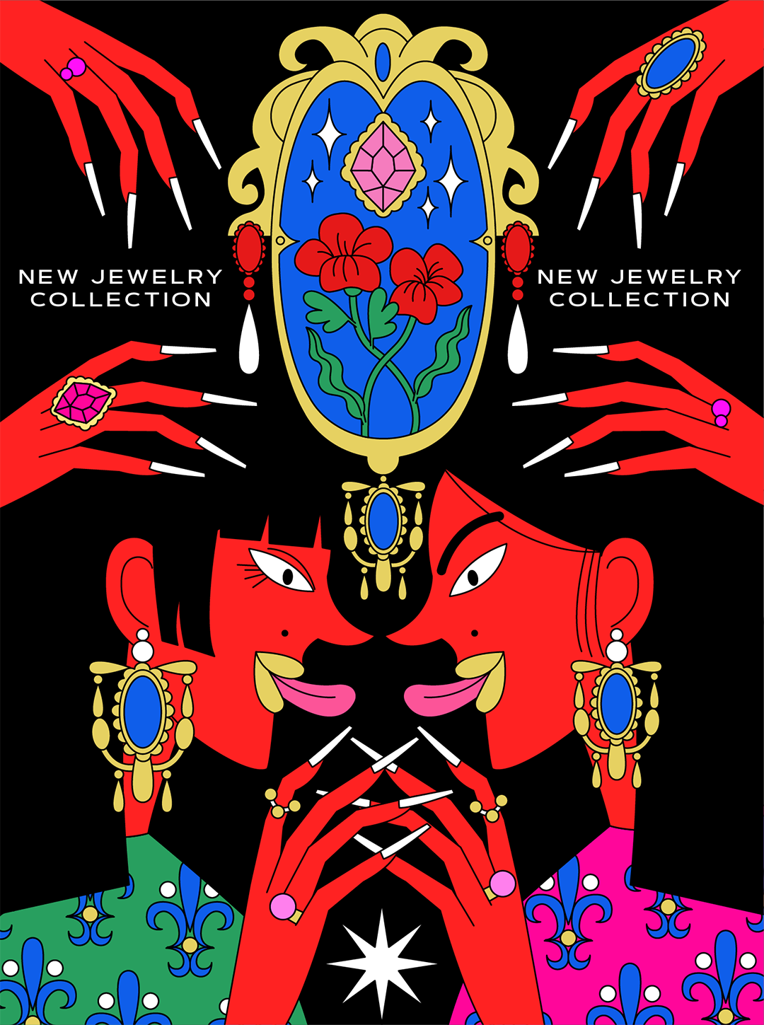 GirlsclubAsia-Illustrator-LuciaPham-Vietnam-New Jewelry Collection