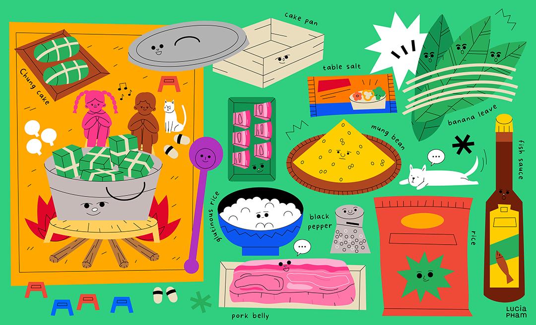 GirlsclubAsia-Illustrator-LuciaPham-Vietnam-Vietnamese Cuisine