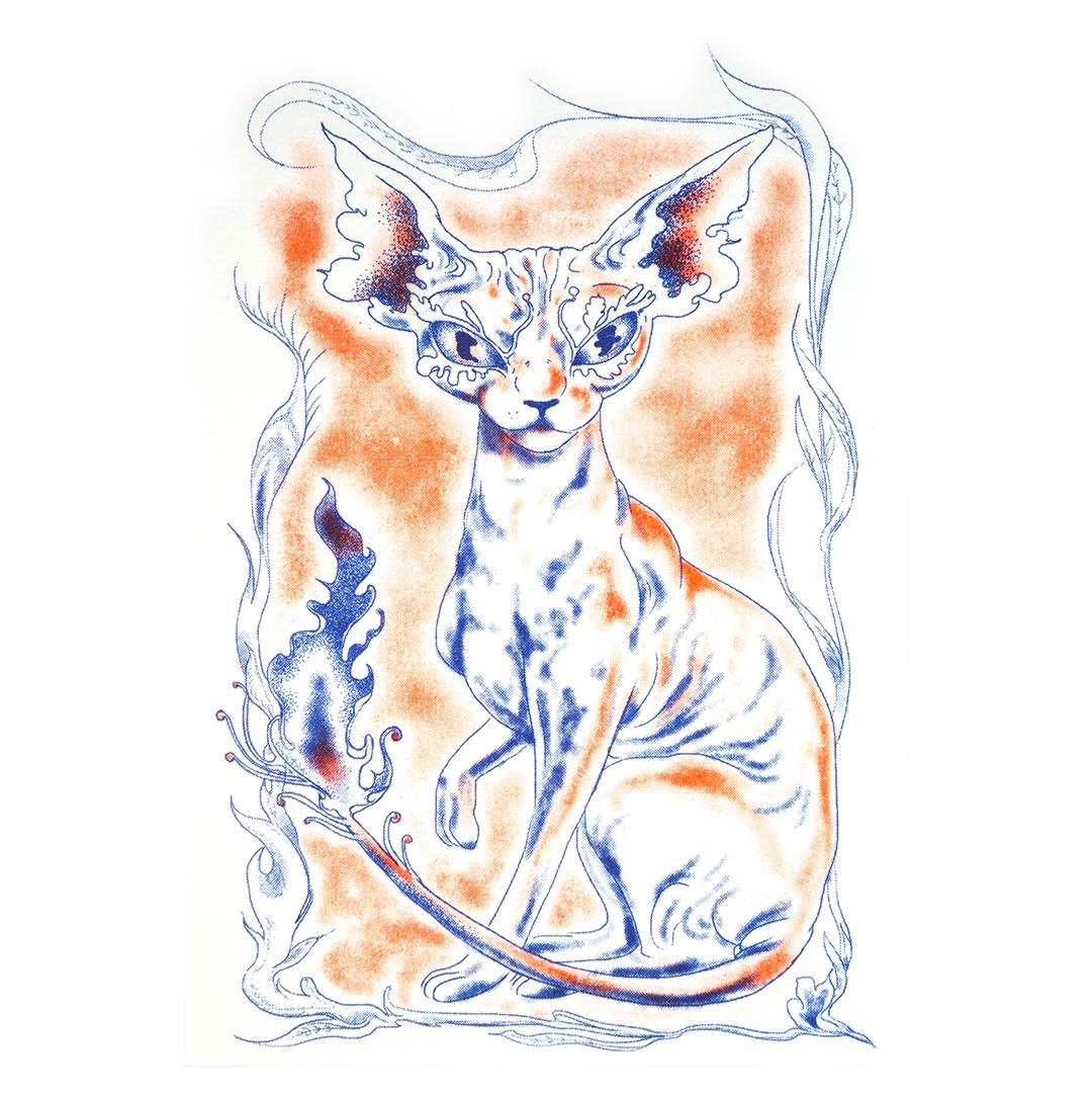 GirlsclubAsia-Artist-JunChen-Taiwan-cat
