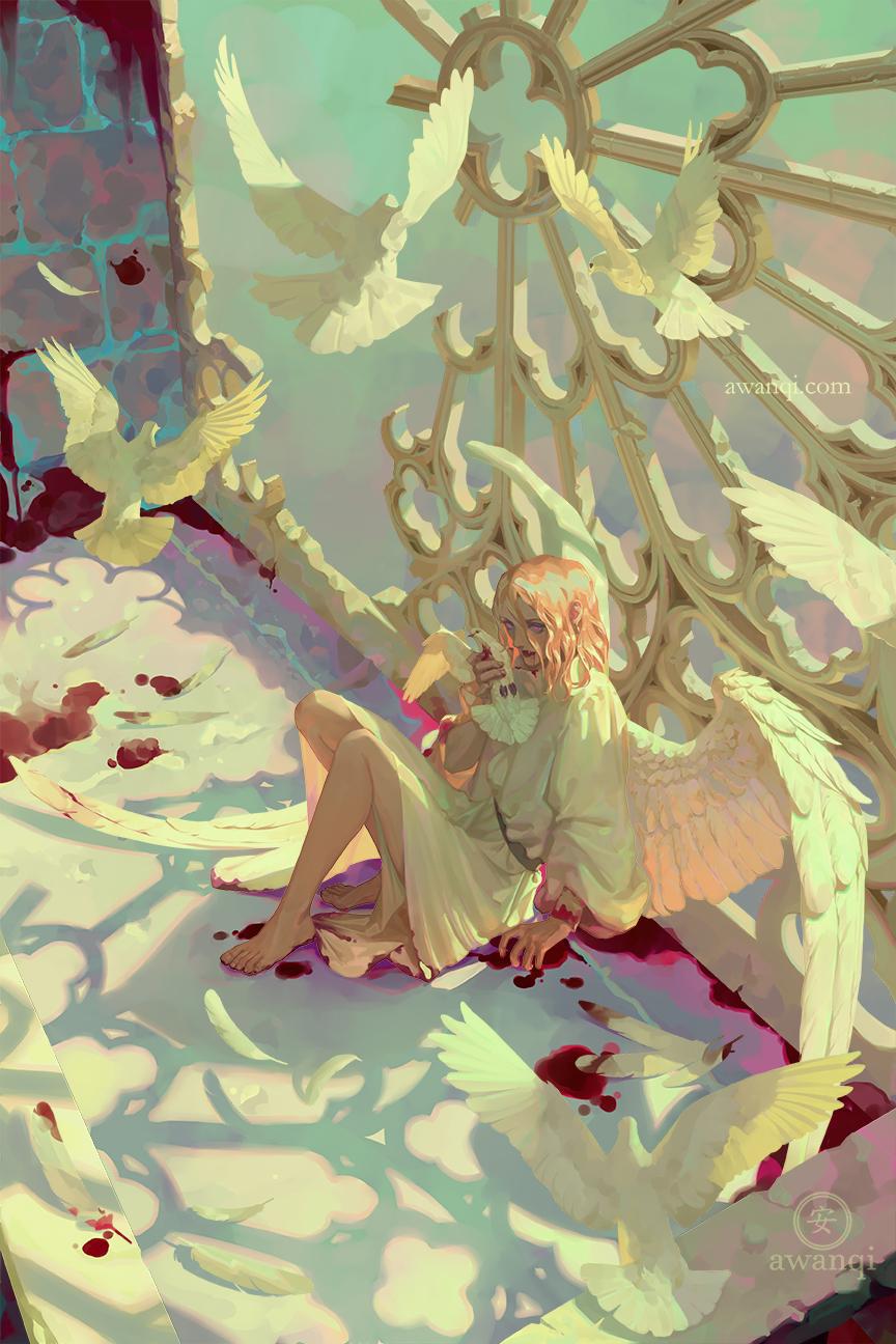 Girlsclubasia-Artist-Illustrator-Angela Wang-moths for internet