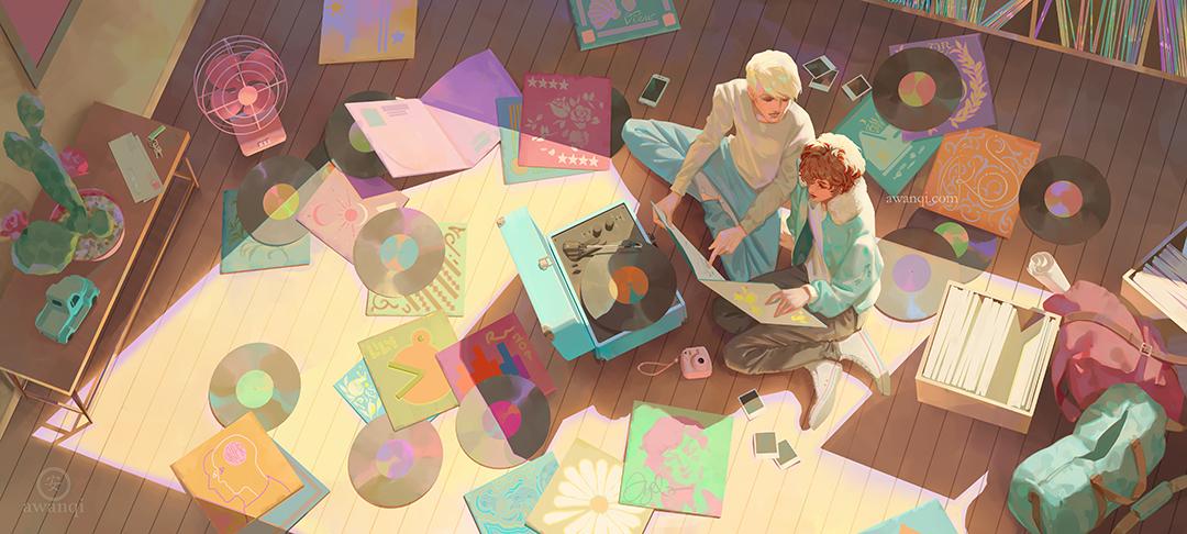 Girlsclubasia-Artist-Illustrator-Angela Wang-nostalgia internet