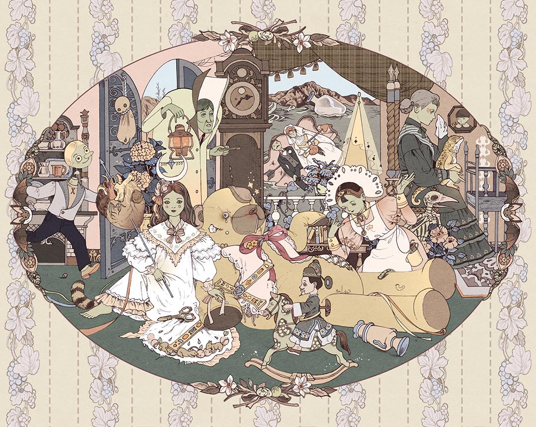 GirlsclubAsia-Illustrator-Vikki Zhang-Dear Tim Burton