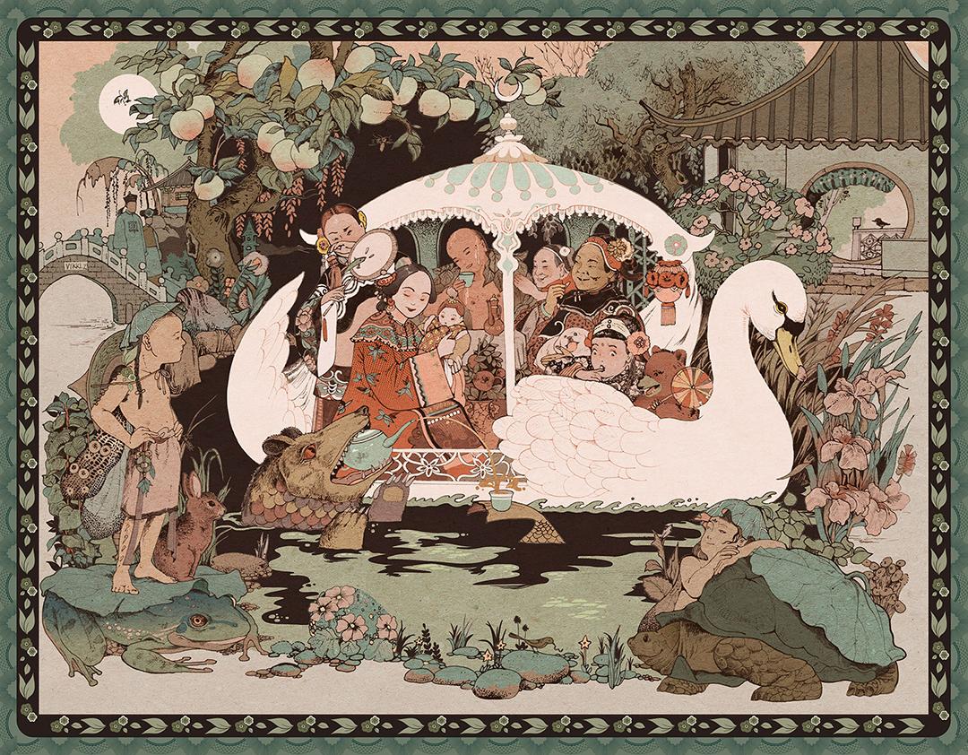 GirlsclubAsia-Illustrator-Vikki Zhang-garden1910_2