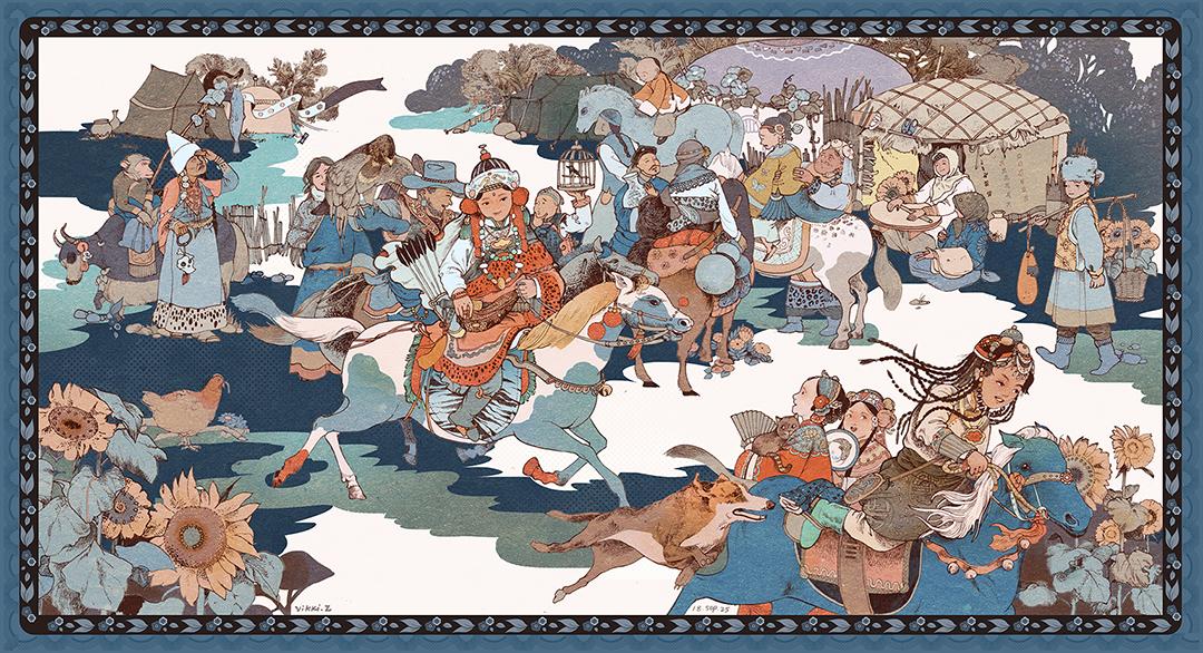 GirlsclubAsia-Illustrator-Vikki Zhang-garden1910_3