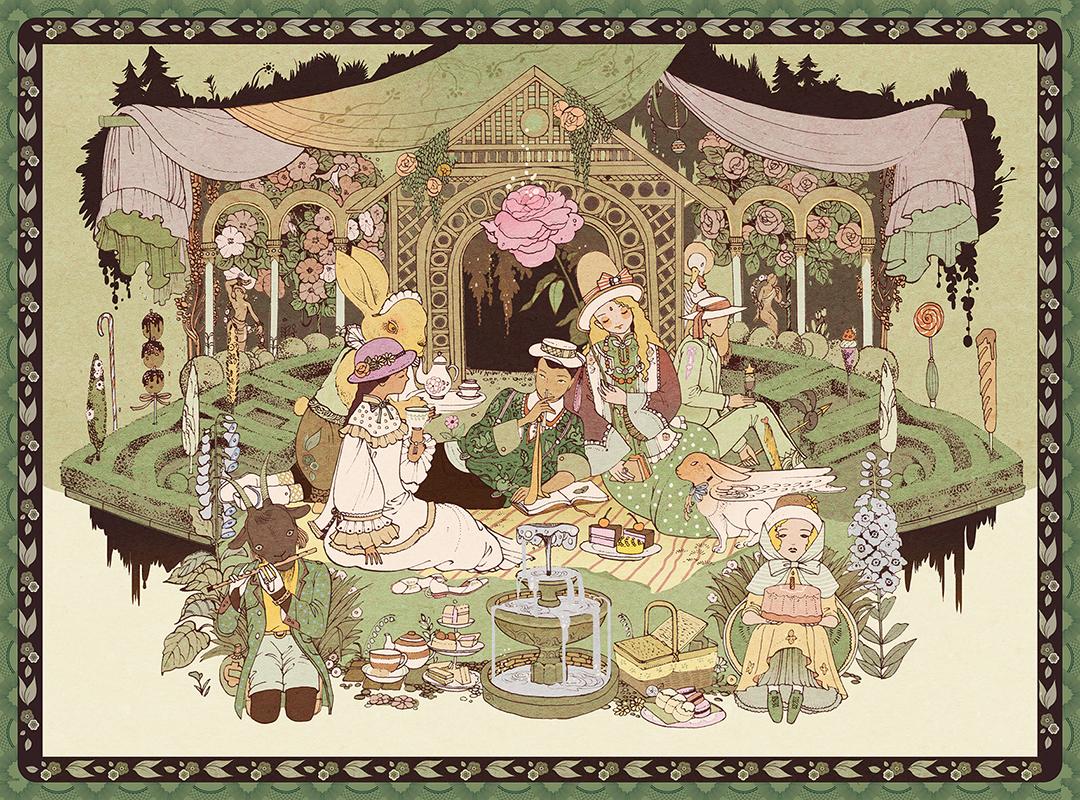 GirlsclubAsia-Illustrator-Vikki Zhang-garden1910_5