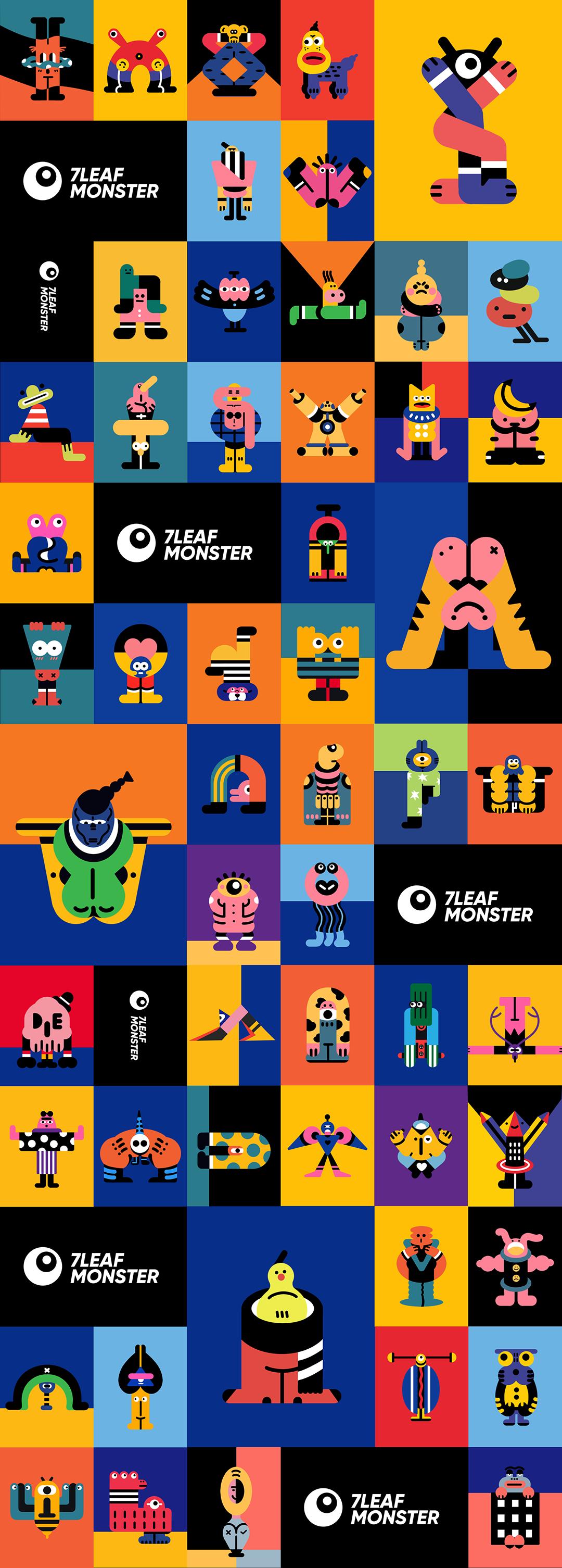 GirlsclubAsia-Illustrator-7Leaf Han-7LEAF MONSTER 3