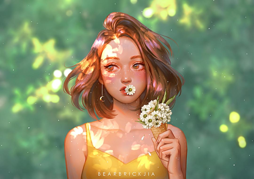 GirlsclubAsia-Artist-Illustrator-Karmen Loh-DaisyOnACone