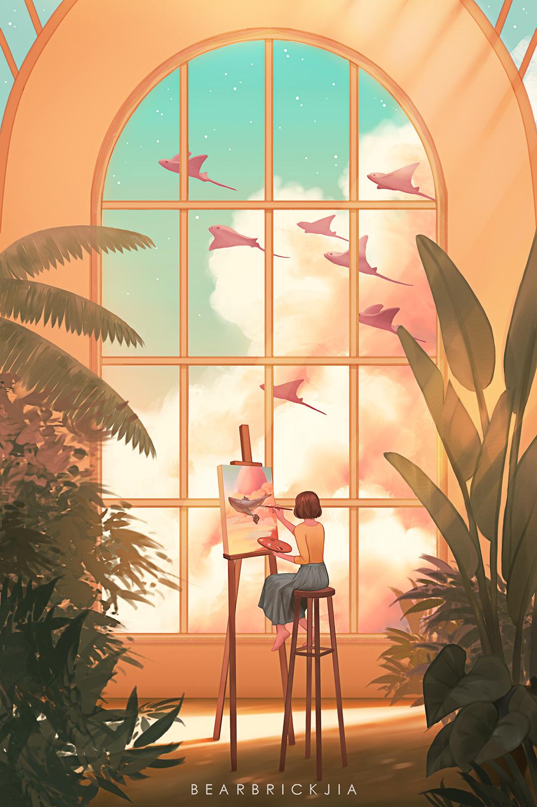 GirlsclubAsia-Artist-Illustrator-Karmen Loh-DreamStudio