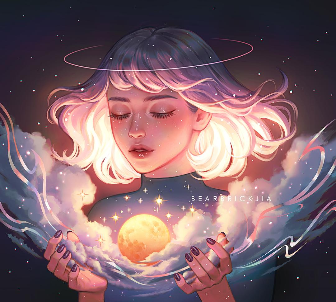 GirlsclubAsia-Artist-Illustrator-Karmen Loh-MoonCatcher