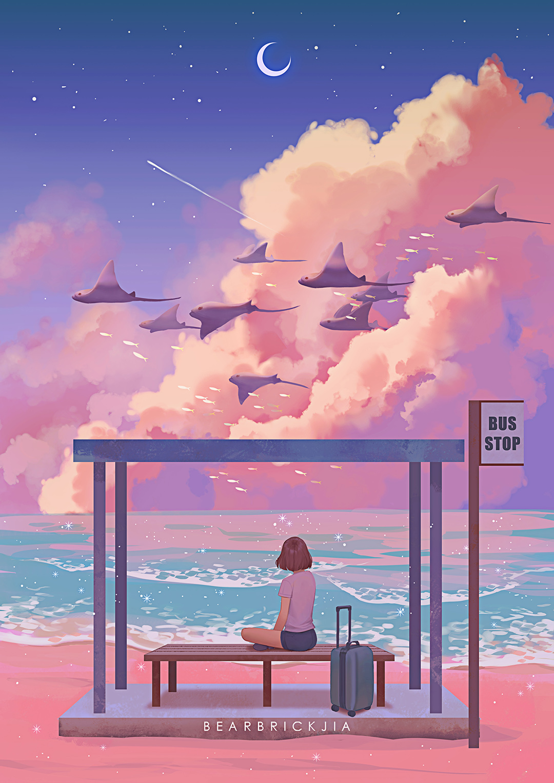 GirlsclubAsia-Artist-Illustrator-Karmen Loh-StingrayBusStop