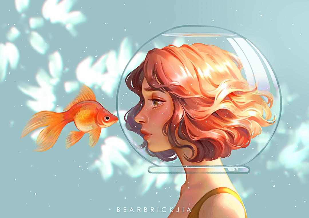 GirlsclubAsia-Artist-Illustrator-Karmen Loh-TearsOfAGoldfish