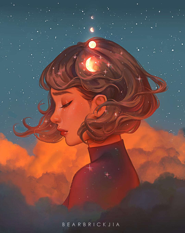 GirlsclubAsia-Artist-Illustrator-Karmen Loh-BeyondTheClouds