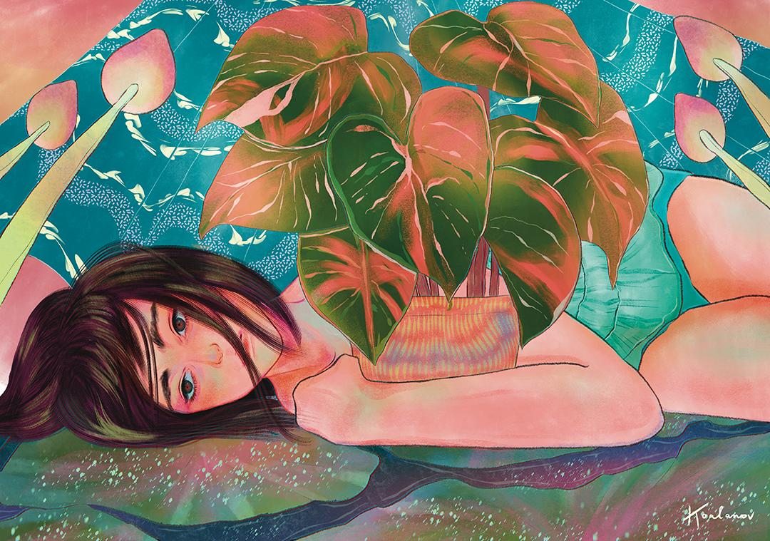 GirlsclubAsia-Illustrator-Kaho Yoshida-Stay_Alive