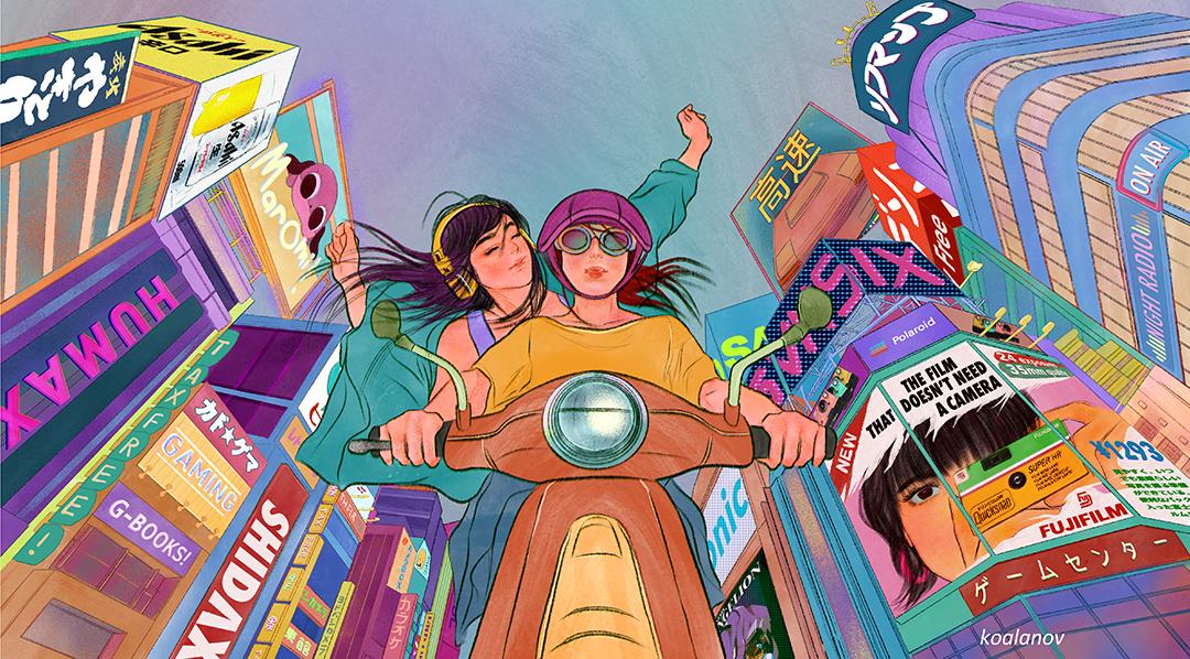 GirlsclubAsia-Illustrator-Kaho Yoshida-Daylight