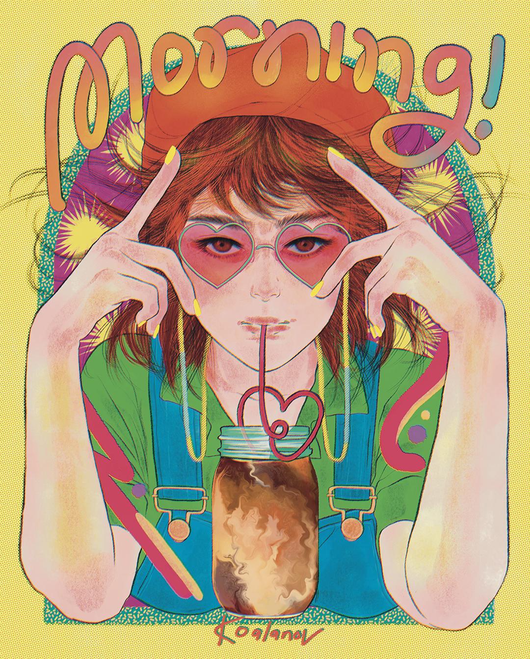 GirlsclubAsia-Illustrator-Kaho Yoshida-Good morning