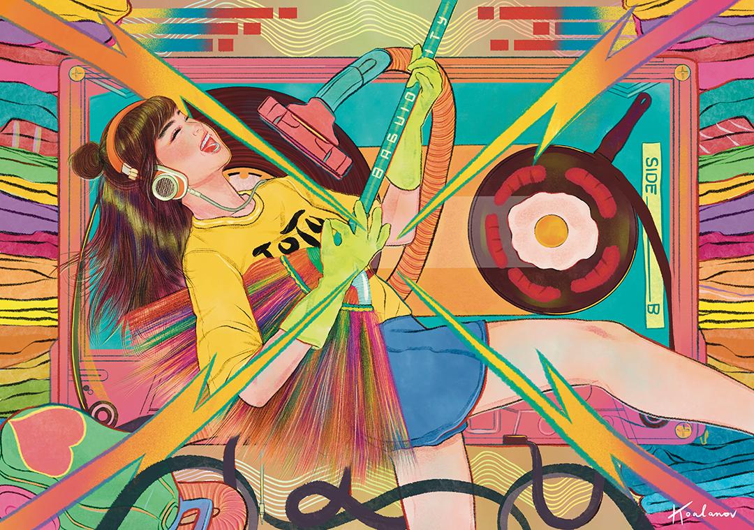 GirlsclubAsia-Illustrator-Kaho Yoshida-Party for 1 copy