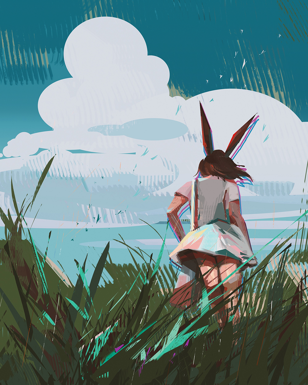 GirlsclubAsia-Illustrator-Donglu Yu-Bunny_in_the_Field_Hires
