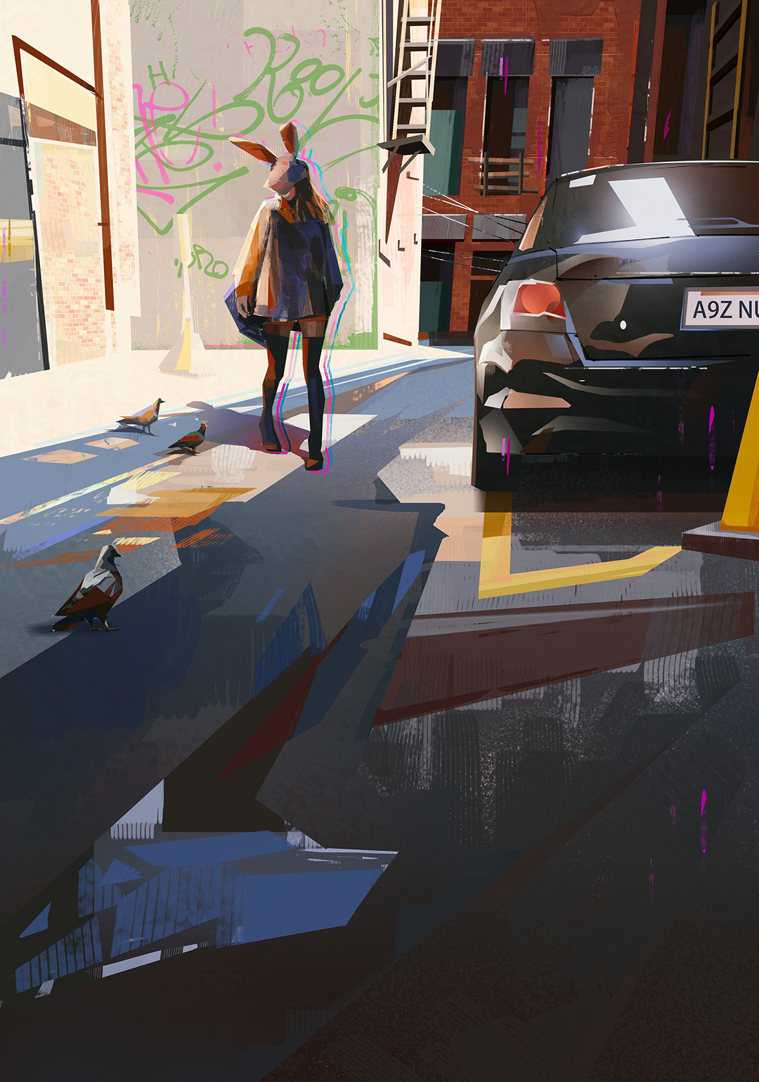 GirlsclubAsia-Illustrator-Donglu Yu-WalkinginBackAlley_Hires