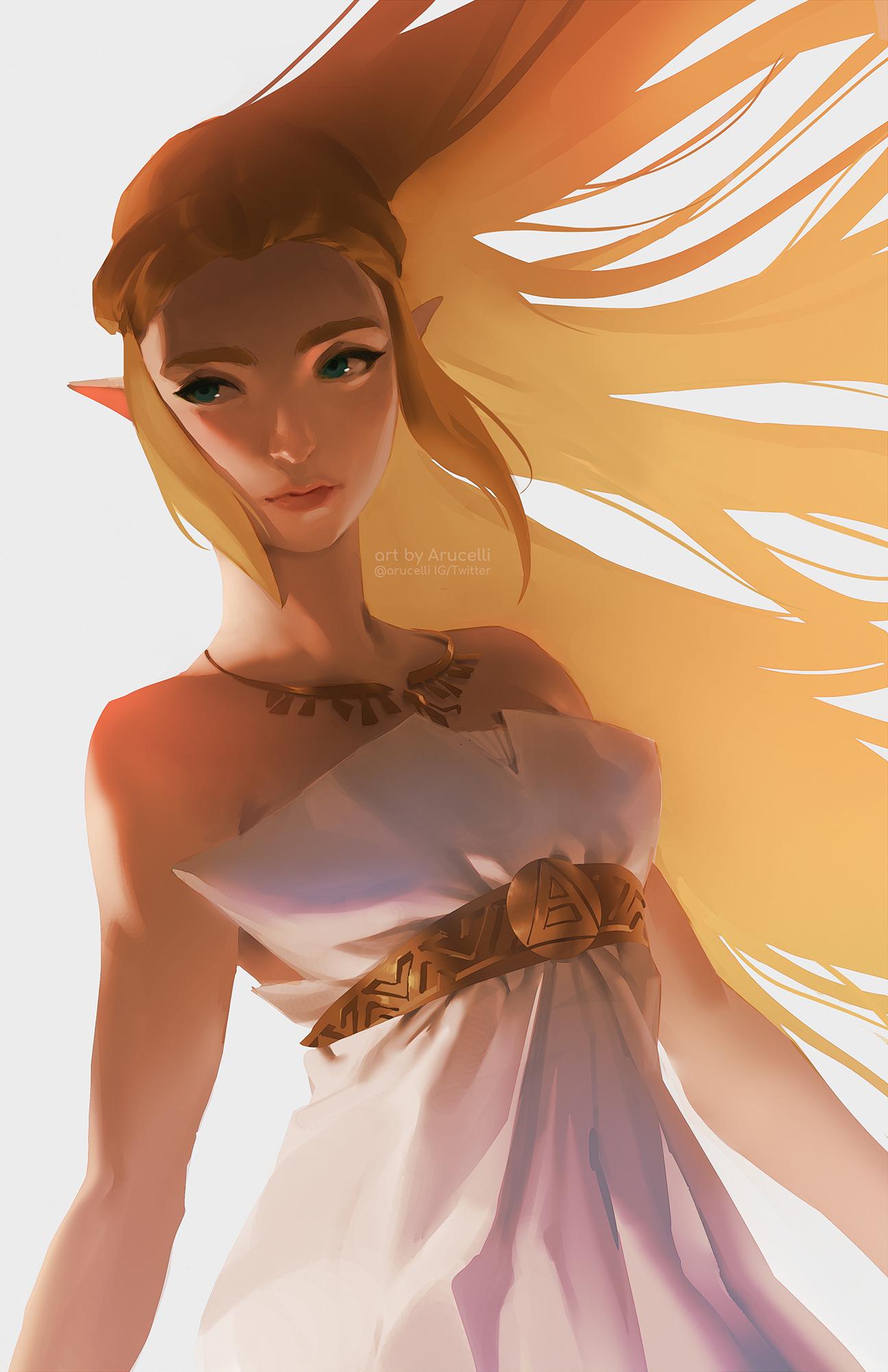 GirlsclubAsia-ConceptArtist-Illustrator- Knight Zhang-zelda2