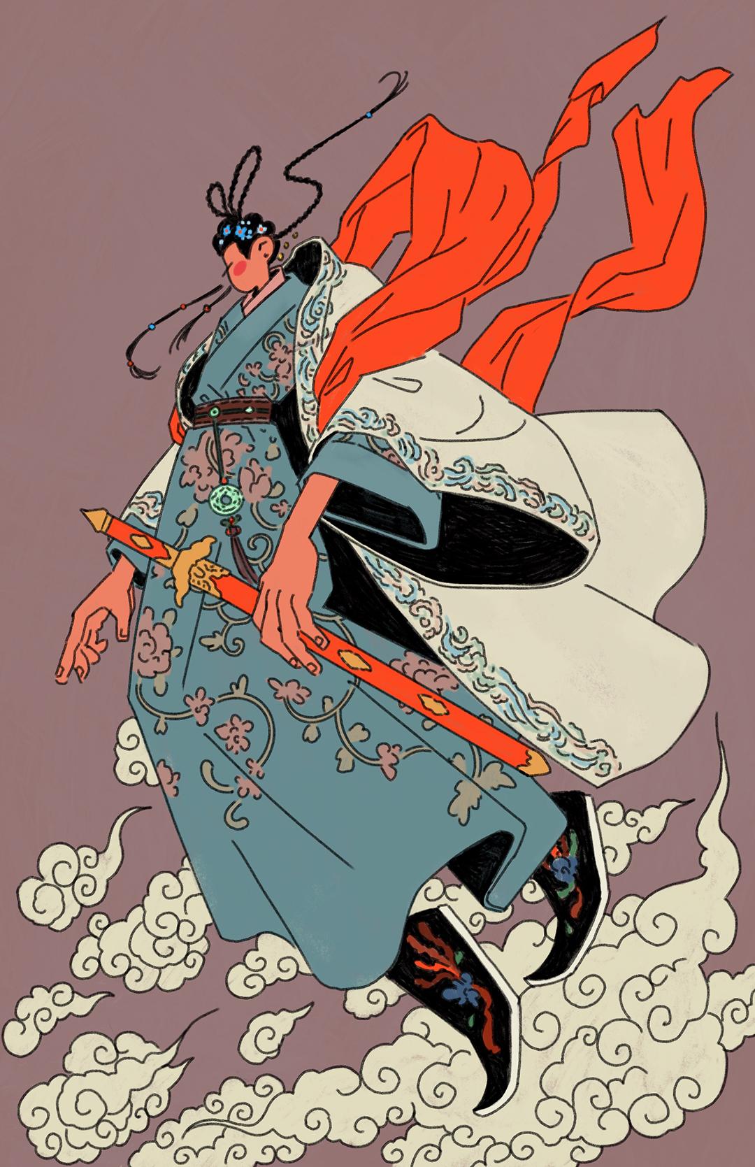 GirlsclubAsia-Illustrator-Sarula Bao-IntheClouds