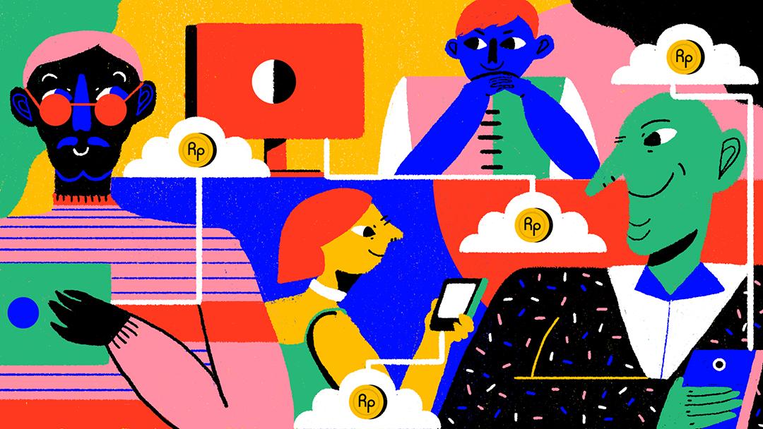 GirlsclubAsia-Illustrator-Nadya Noor-Ide 1- Menelisik Financial Technology yang semakin berkembang di Indonesia