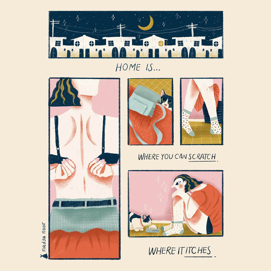 GirlsclubAsia-Illustrator-Nadya Noor-Livinv_Loving_3