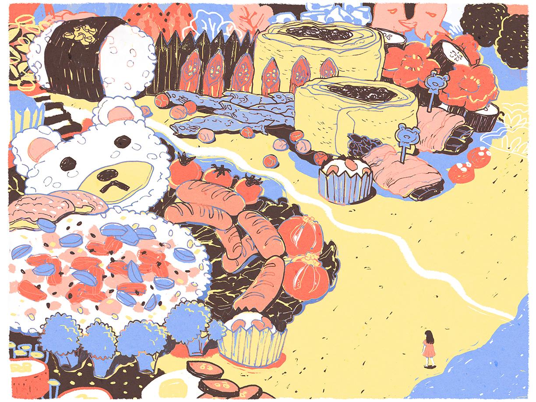 GirlsclubAsia-Illustrator-BENTOLAND_Lisa Kogawa