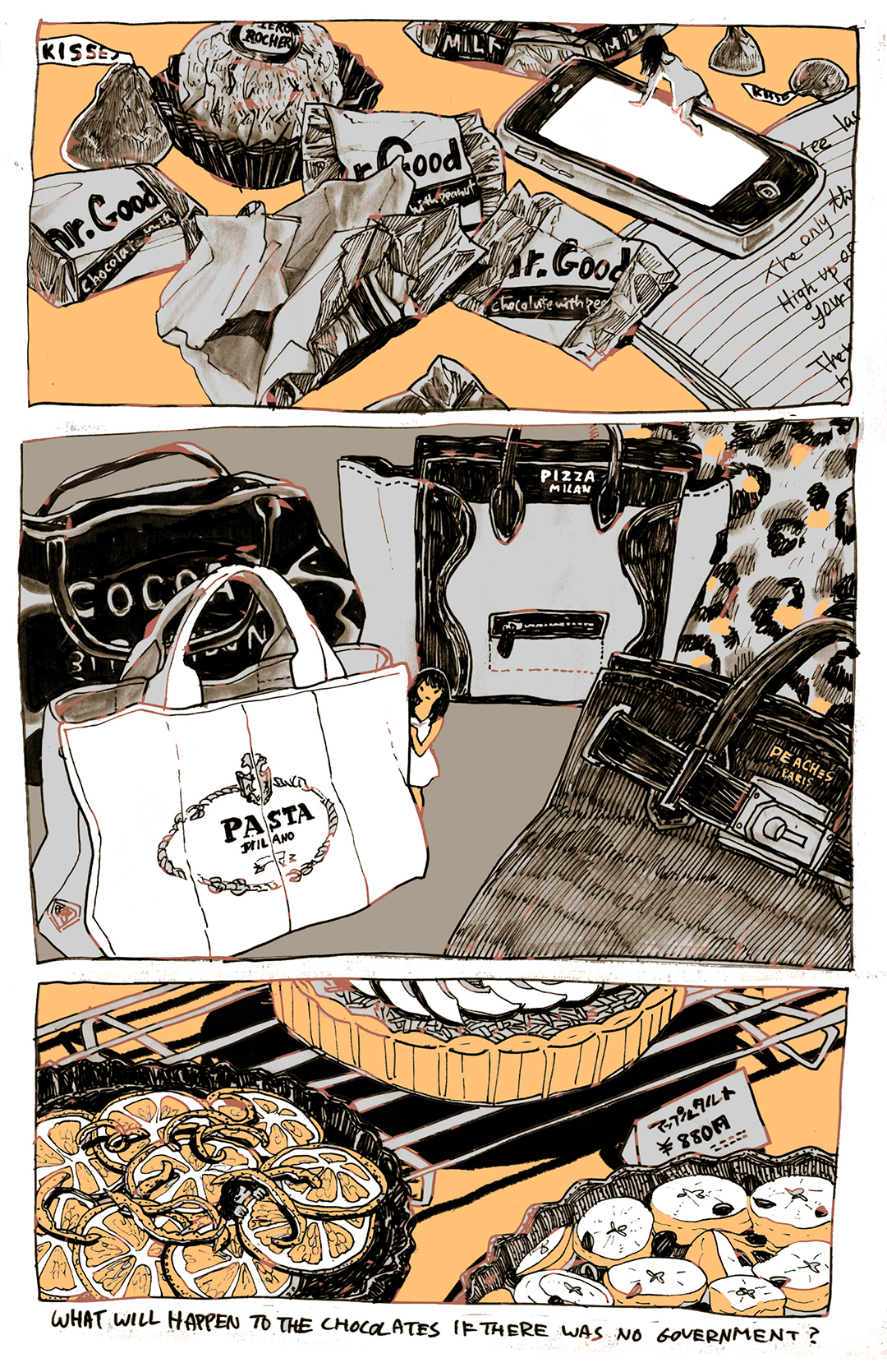 GirlsclubAsia-Illustrator-COHOCLATE GOV_Lisa Kogawa