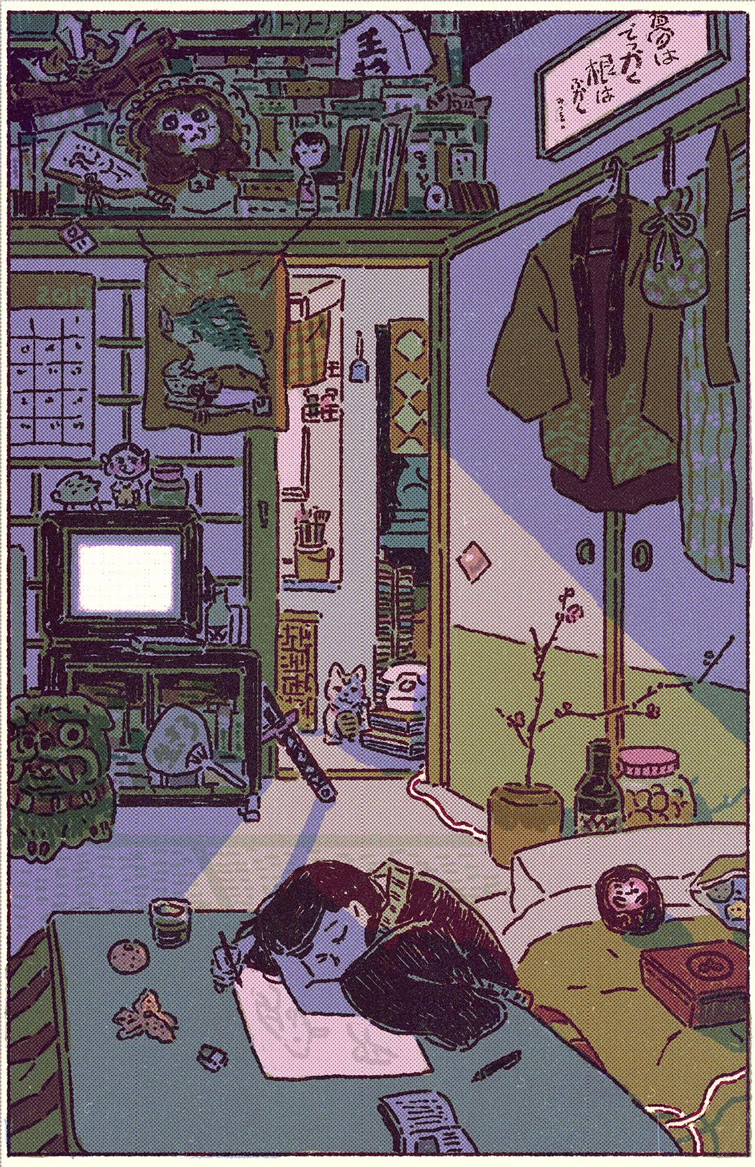 GirlsclubAsia-Illustrator-Dozingoff_Lisa Kogawa