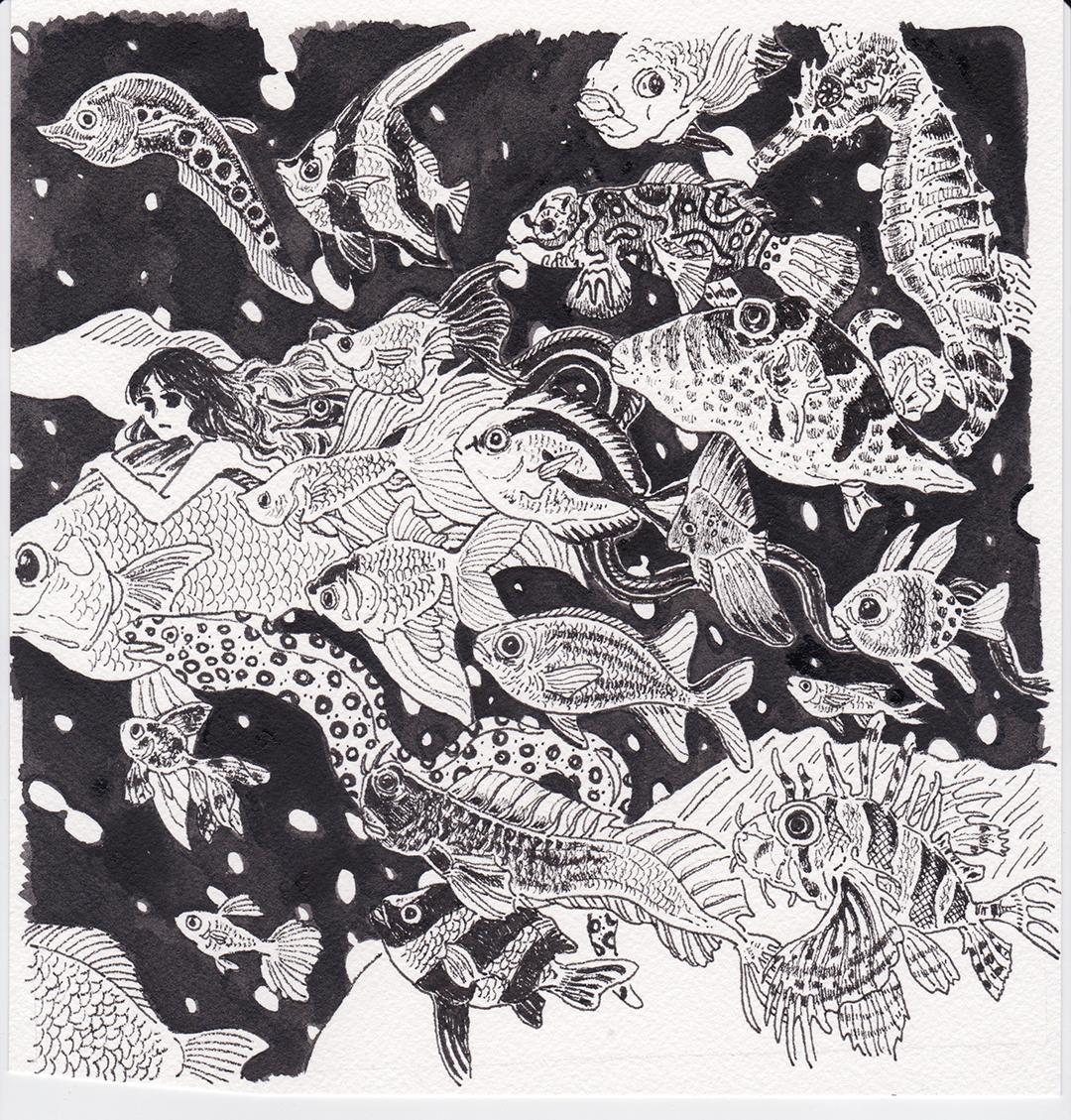 GirlsclubAsia-Illustrator-In Wave_Lisa Kogawa