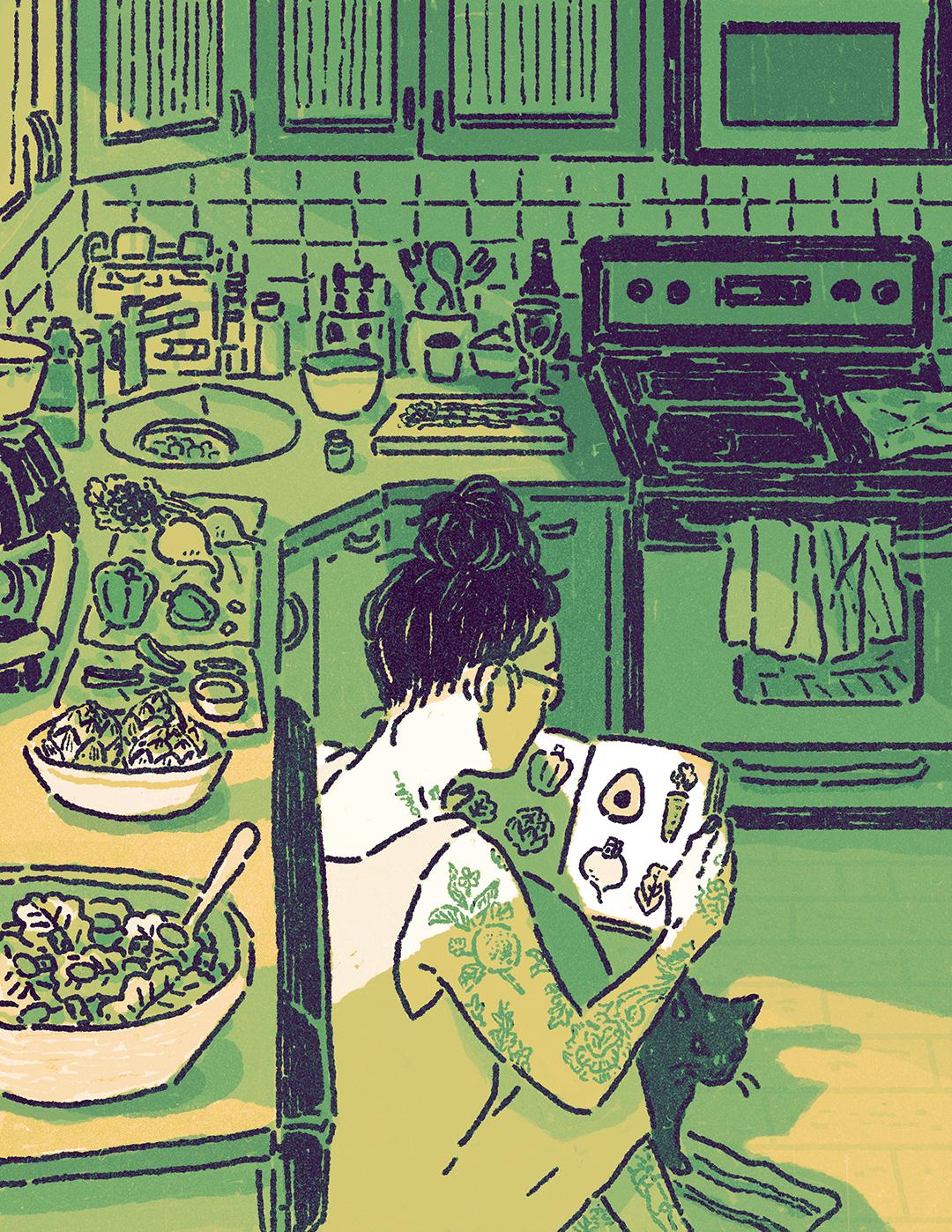 GirlsclubAsia-Illustrator-Nature Issue_Lisa Kogawa