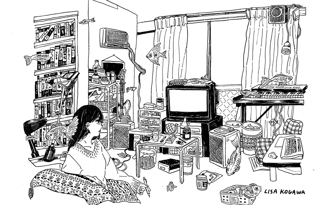 GirlsclubAsia-Illustrator-ROOM 1_Lisa Kogawa