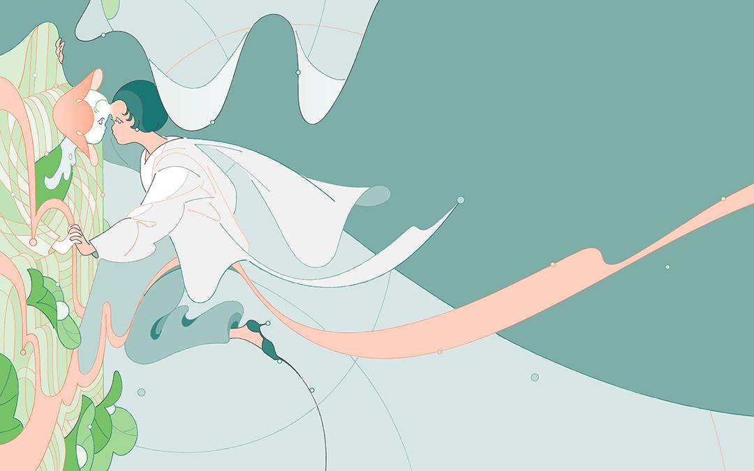 GirlsclubAsia-Illustrator-Genie-Liang_2_gen_wallpaper_mirrorlake_Desktop