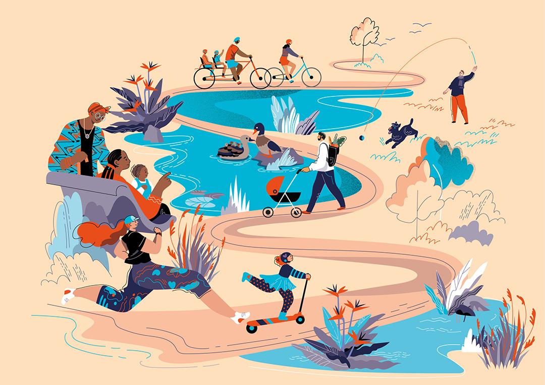 GirlsclubAsia-Illustration-Animation-Lilian Darmono-01_Lakes_walk_04_grain_folio