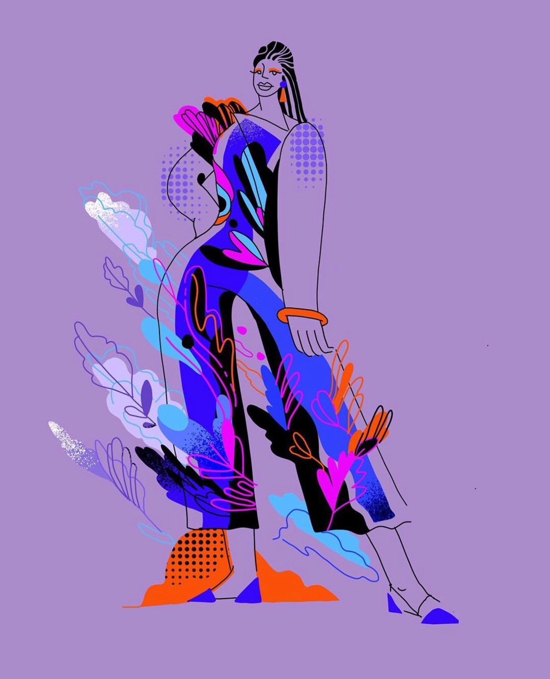 GirlsclubAsia-Illustration-Animation-Lilian Darmono-Fashionista