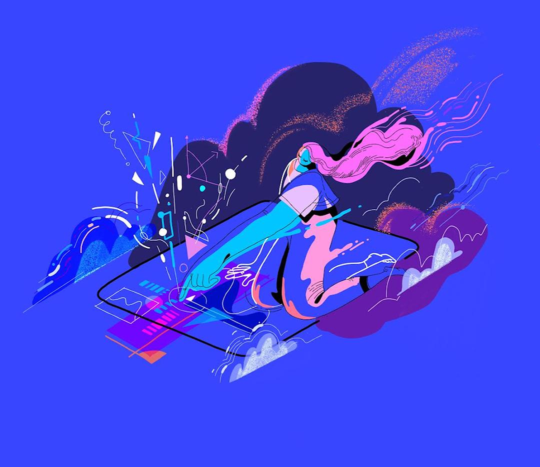 GirlsclubAsia-Illustration-Animation-Lilian Darmono-Ipad_girl