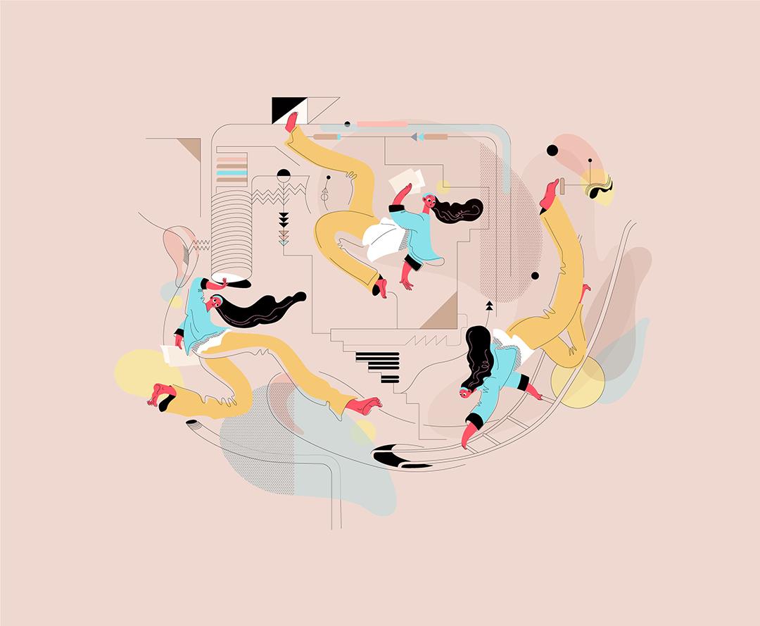 GirlsclubAsia-Illustration-Animation-Lilian Darmono-Trapdoors