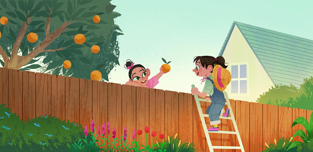 GirlsclubAsia-Illustrator-Tidawan-Thaipinnarong-fence