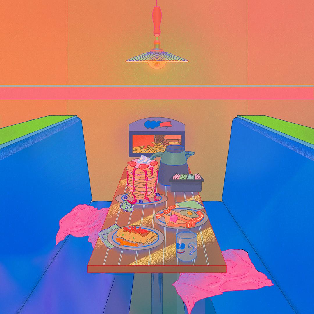 GirlsclubAsia-Illustrator-Damien_Jeon-Diner