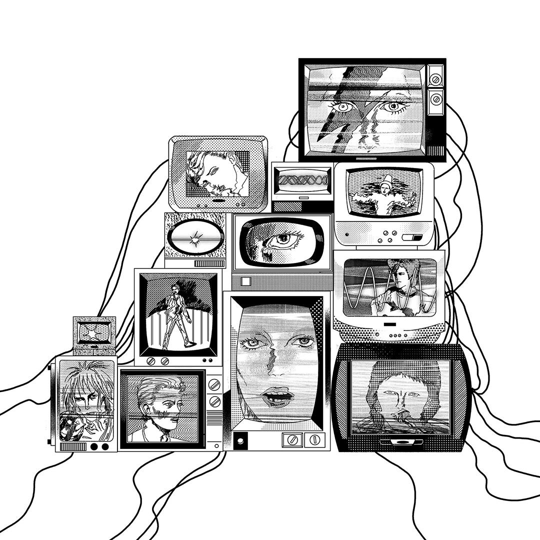GirlsclubAsia-Illustrator-Damien_Jeon-Tribute To David Bowie