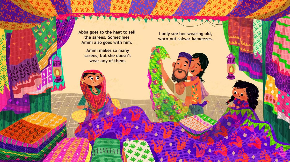 GirlsclubAsia-Illustrator-Sandhya-Prabhat-SareeForAmmi_12-13