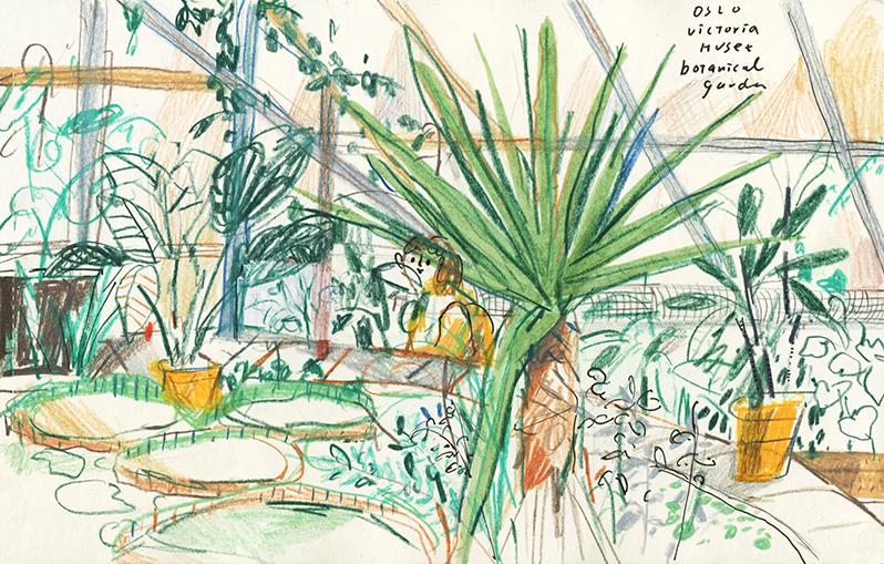 GirlsclubAsia-Illustrator-Cindy_Wume-sketch, Oslo, 2019