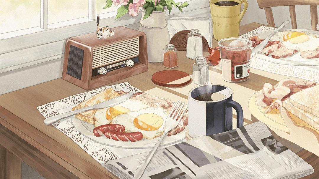 GirlsclubAsia-Illustration-Enid Din-Breakfast-table_LQ