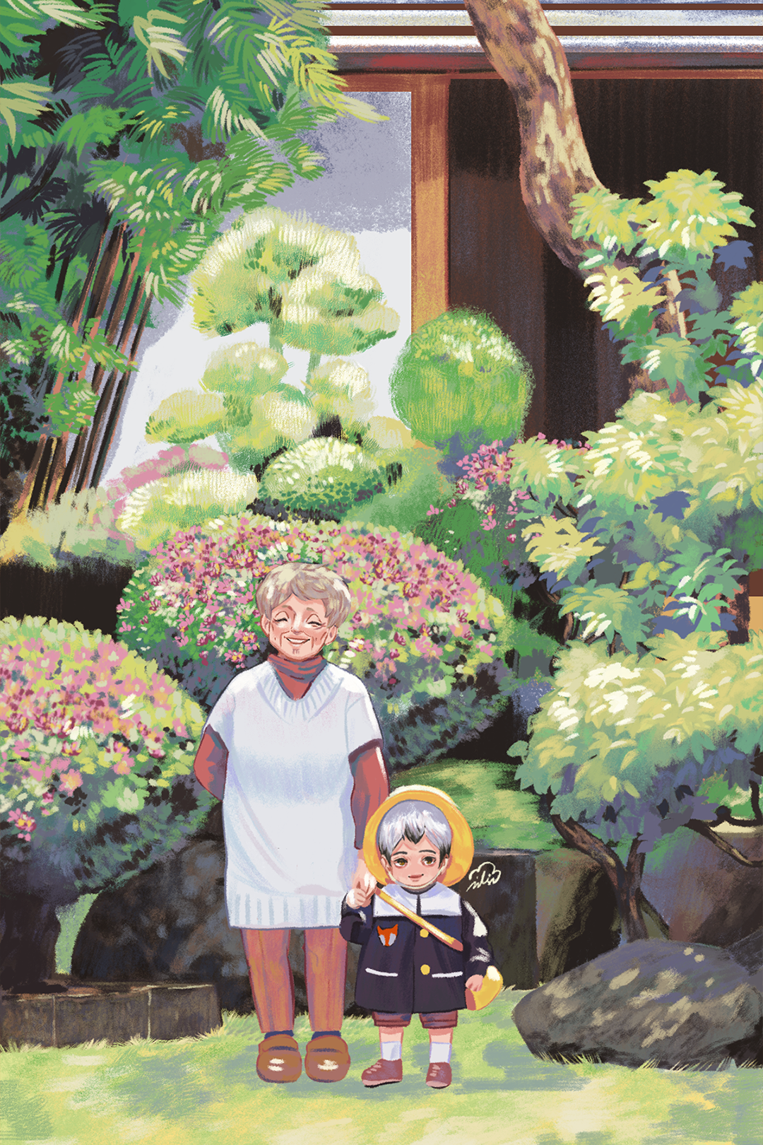 GirlsclubAsia-Illustration-Enid Din-Kita-Granny-4x4_300dpi
