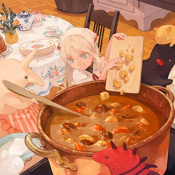 GirlsclubAsia-Artist-Ayakii-AOC-urna-curry-cook-COVER