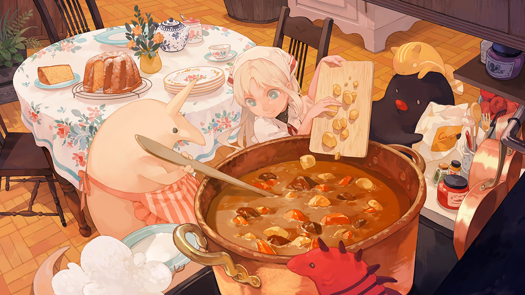 GirlsclubAsia-Artist-Ayakii-AOC-urna-curry-cook