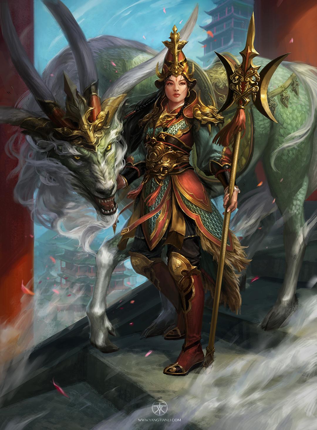 GirlsclubAsia-Artist-Yangtian Li-heaven guardian hd